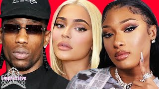 Megan Thee Stallion hangs with Kylie Jenner's EX Travis (shade or nah?) |Tory offered Meg hush money