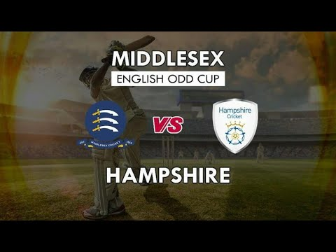 Middlesex Vs Hampshire T20 Blast Live Streaming