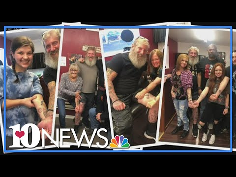 Terminally ill man visits Knoxville on quest to get matching tattoos with strangers