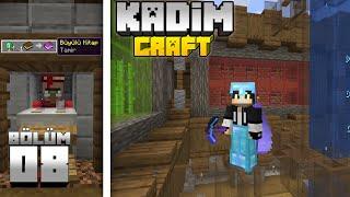 Kadimcraft 1: Bölüm 8 - İŞE YARAR MİNİ FARMLAR ve UCUZ TİCARET KÖYLÜLERİ !!