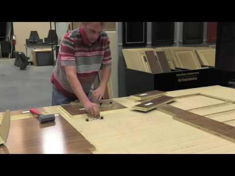 Thermwood Cut Center Virtual Demo   Machining a Mitered Box