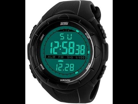 электронные мужские наручные часы купить - YouTube