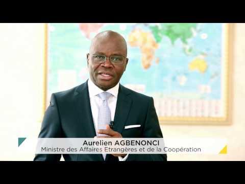 Le Ministre Aurelien AGBENONCI vous invite ce 09 Fev 2017 à la rencontre avec le Corps Diplomatique