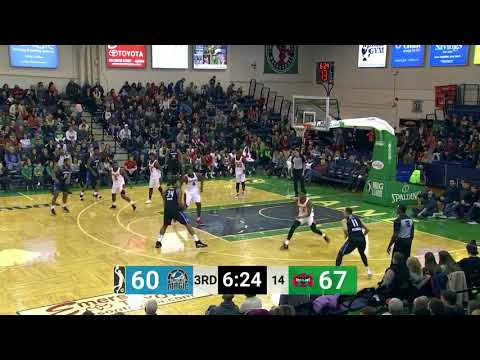 Xavier Gibson  12 points  Highlights vs  Maine Red Claws