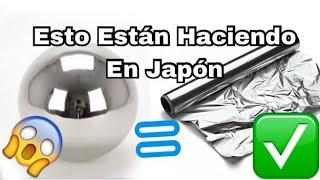 ¡¡¡ESTO ESTA SUCEDIENDO EN JAPÓN !!! | Tendencia Japón | #Japan sphere trend made of aluminum foil