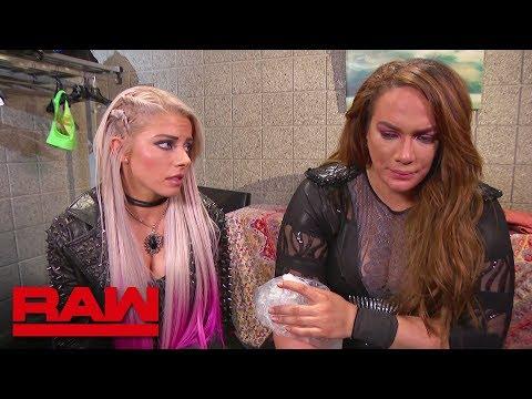 "Alexa Bliss has ""encouraging"" words for Nia Jax: Raw, March 5, 2018"