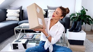 ZARA HAUL & OPEN PACKAGES WITH ME | Annie Jaffrey
