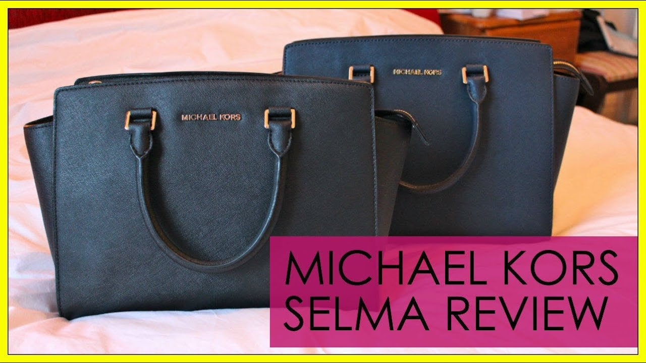 93b9026a9165 Michael Kors Selma Satchel Bag Review | GirlOrb - YouTube