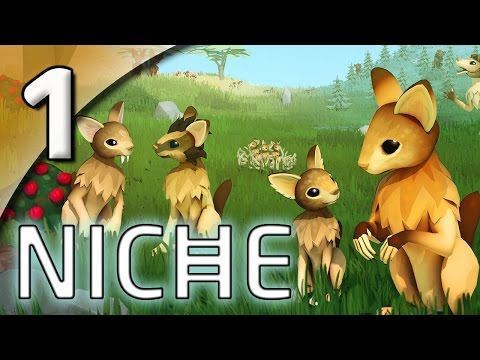 Niche [First Taste] - 1. Exploring the Island - Let's Play Niche Gameplay