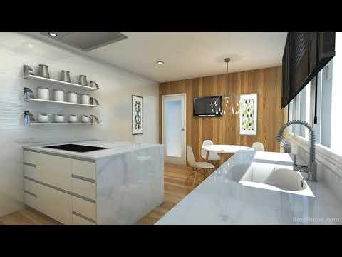 Proyecto diseño cocina, cocina 18m de roberto
