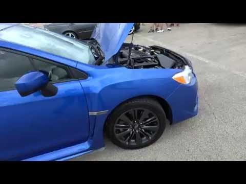 2015 Subaru WRX (me) vs Mitsubishi Lancer EVO GSR at Route 66 Drag Strip 8/13/16