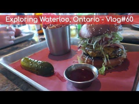 Exploring Waterloo, Ontario - Vlog#60