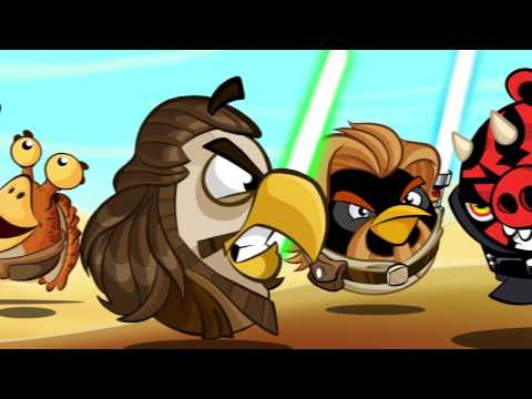 Angry Birds Star Wars 2 (Announcement featuring Telepods)