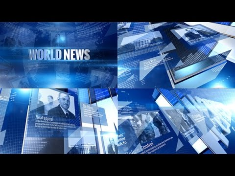 World News Opener ( After Effects Project Files ) ★ AE Templates