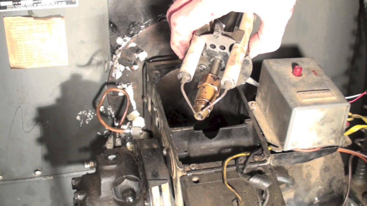 Oil Furnace Troubleshoot Part 2 No Flame Youtube. Oil Furnace Troubleshoot Part 2 No Flame. Wiring. Beckett Oil Burner Control Wiring Diagram 7505 At Scoala.co