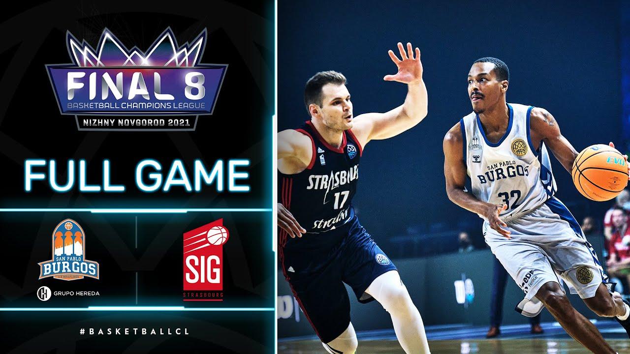 Hereda San Pablo Burgos v SIG Strasbourg - Full Game | Basketball Champions League 2020/21