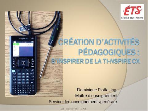 La création d'activités pédagogiques : s'inspirer de la calculatrice