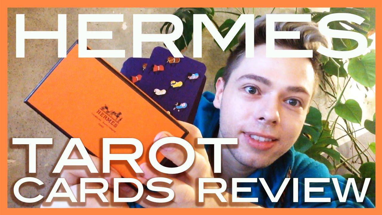 review HERMES tarot cards