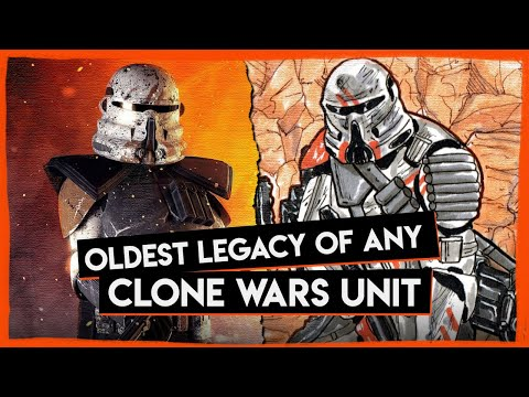 The Republic's most ANCIENT Unit Explained - The 7th Sky Corps