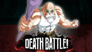 Master Roshi Buffs up for DEATH BATTLE!