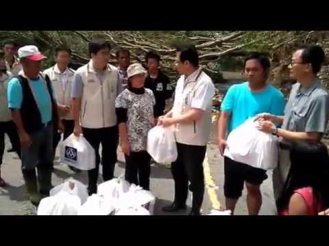 1050930梅姬颱風重創寶山部落 行政院南部中心苦民所苦
