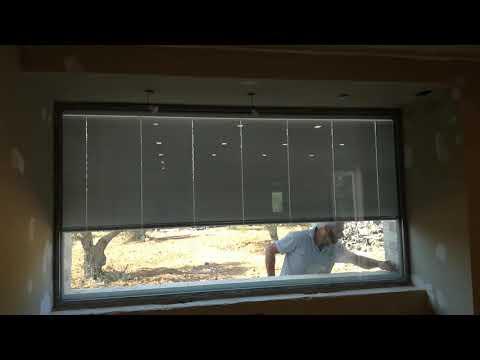 Veneziana interno vetro su alzante scorrevole Finestre Nurith - Tutorial from YouTube · Duration:  1 minutes 51 seconds