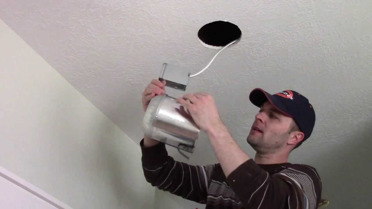 How To Install Additional Recessed Can Lights Youtube Old Ceiling Fan Wiring Diagram