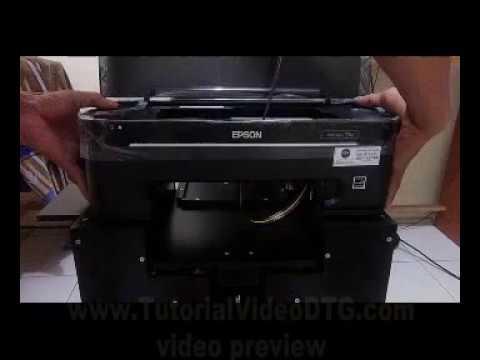 How to build DIY DTG printer: How to build DIY DTG printer
