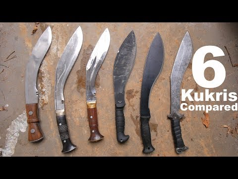 6 Kukris Compared:
