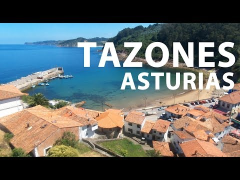 vídeo sobre Tazones, typical Asturian town