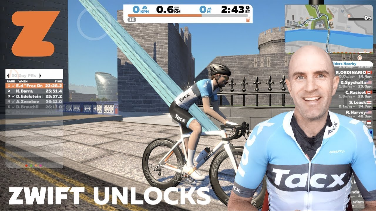 Swift Zwift Tip Unlock Your Trainer Kit In Game Wahoo Elite Cycleops Tacx Youtube