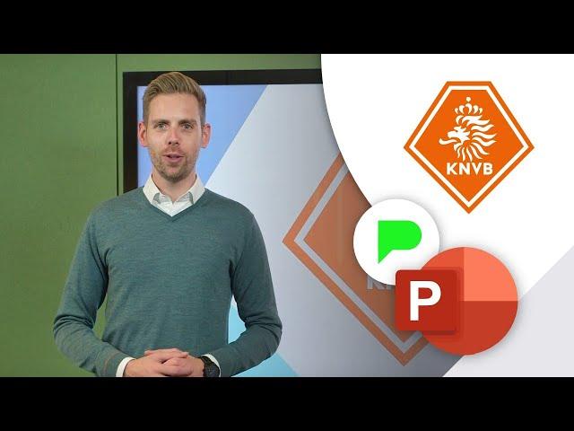 Slidebuilder voor KNVB | Portfolio | PPT Solutions