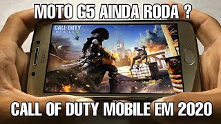 Moto G5 RODA CALL OF DUTY MOBILE