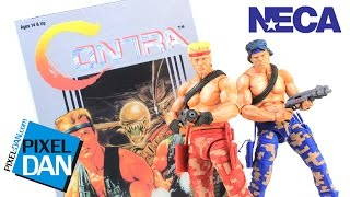 Contra Lance and Bill NECA Toys NES Video Game Figures Review