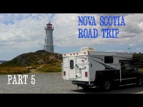 Nova Scotia Road Trip, Louisburg and other coastal towns