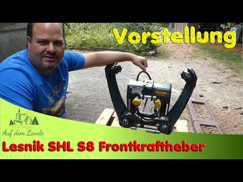 lesnik-shl-s8-💪-fronthydraulik-👉-frontkraftheber-👉-vorstellung-💰-rabatt-von-s&t-siehe-text