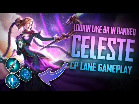 Vainglory YoloQ - Ep 20: LOOKIN LIKE BR IN RANKED... Celeste  CP  Lane [SoloQ] Gameplay  Update 2.0 