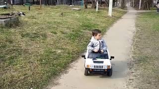 Хамер детский электромобиль для всех 2018  Hamer children