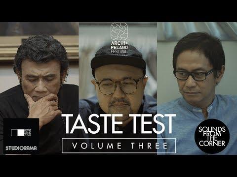 Sounds From The Corner : Taste Test - Rhoma Irama, Anton Wirjono, Addie MS