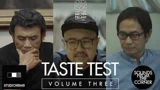 Sounds From The Corner : Taste Test - Rhoma Irama, Anton Wirjono, Addie MS