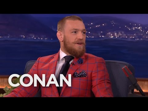 Conor McGregor Got His Start As A Plumber  - CONAN on TBS