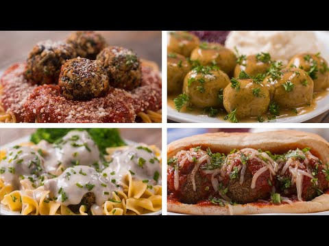 "Meatless ""Meat""balls 4 Ways"