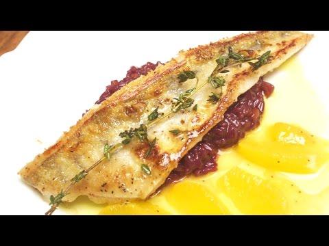 Rotweinrisotto mit Zander und Orangen, Rezept von Chefkoch Thomas Sixt Teil 3
