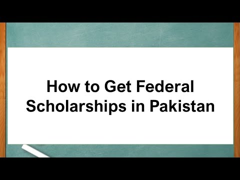 how-to-get-federal-scholarships-in-pakistan