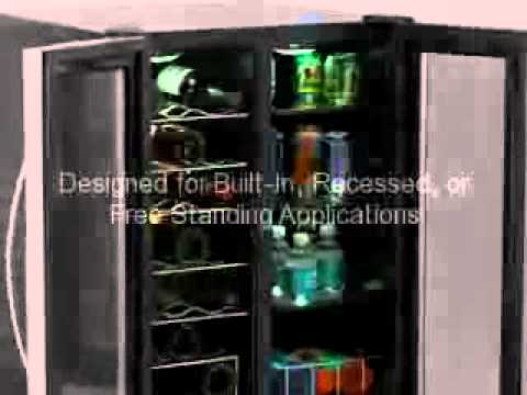 sale avanti 12bottle wine cellar black
