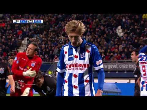 Eredivisie speelronde 13: sc Heerenveen - PEC Zwolle