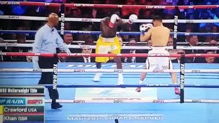 TERENCE CRAWFORD VS AMIR KHAN FULL FIGHT REVIEW!