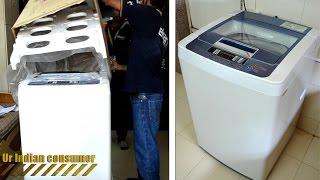 lg 6 2 kg fully automatic top loading washing machine t72cmg22p unboxing unpacking flipkart