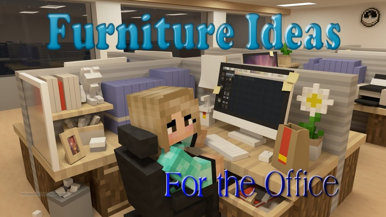 Minecraft Furniture Ideas 6 Kiwi Designs For Office