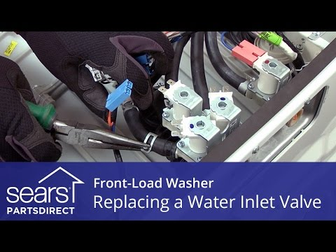 Replacing the Water Inlet Valve on a Front-Load Washer